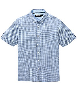 Black Label Micro Checked Shirt Regular