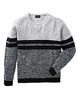 Label J Sporty Twist Crew Knit Regular