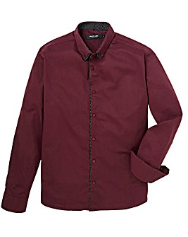 Black Label Plain Front Shirt L