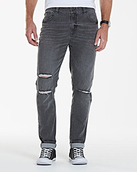Label J Ripped Skinny Jean 33In