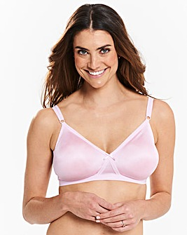 2 Pack Claire Non Wired Pink/Black Bras