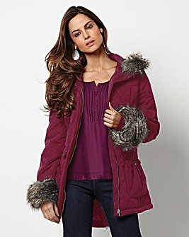 Together Quilted Coat