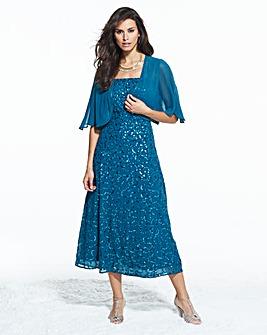 Joanna Hope Sequin Dress and Bolero
