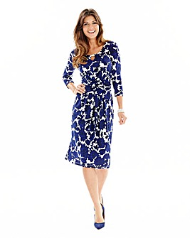 Joanna Hope Print Jersey Dress