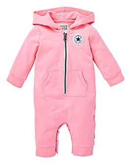 Converse Baby Girl Hooded Romper