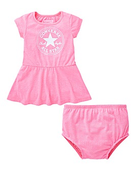 Converse Baby Girl Dress and Knicker Set