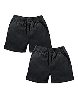 TKD Boys Pack of Two Woven Shorts