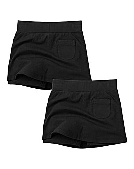 TKD Girls Pack of Two Skorts