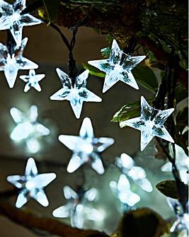 Stars 50 Superbright Solar String Lights