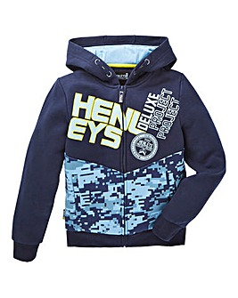 Henleys Boys Rainforest Hoodie