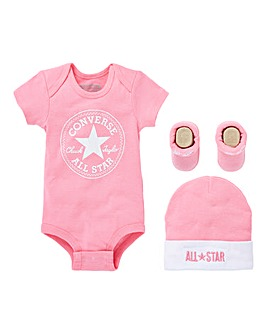 Converse Baby Bodysuit Box Set