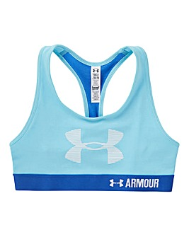 Under Armour Girls Logo Armour Bra