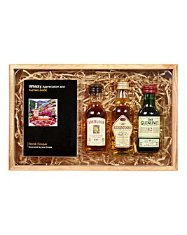 Classic Malts Guide In Wooden Box