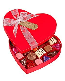 Luxury Heart Box With Chocolates