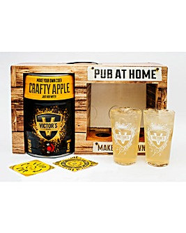 Crafty Apple Cider Pub At Home
