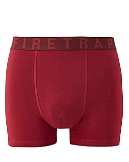Firetrap Pack Of 3 Assorted Plain Boxers