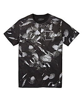 Label J Bird Print Tee Long