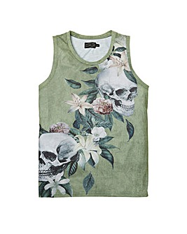 Label J Skull Lilly Vest Long