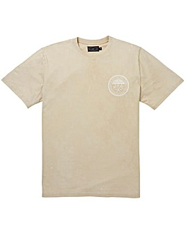 Label J Marble Wash Logo Tee Regular
