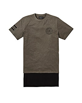 Label J Downtown Extra Longline Tee R
