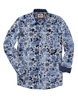 Joe Browns Spray On Flower Shirt Regular
