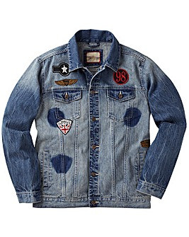 Joe Browns Badged Up Denim Jacket