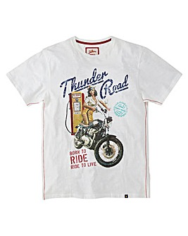 Joe Browns Thunder Road T-Shirt Reg