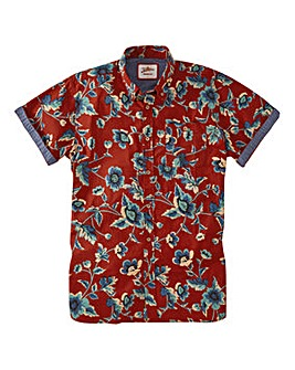 Joe Browns Biker Floral Shirt Regular