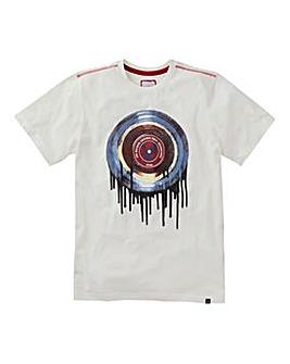 Joe Browns Drippy Vinyl T-Shirt Long