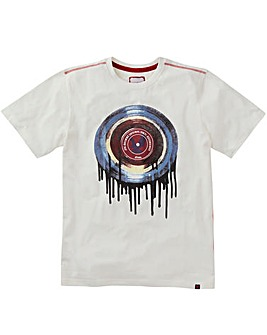 Joe Browns Drippy Vinyl T-Shirt Long