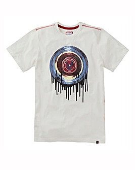 Joe Browns Drippy Vinyl TShirt Reg