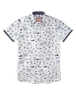 Joe Browns Conversational Surf Shirt Reg