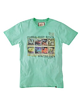 Joe Browns Global Wave T-Shirt Long