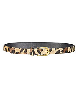 Leopard Jeans Belt