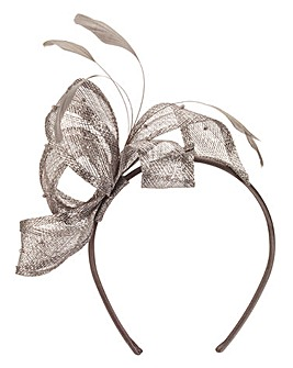 Headband Fascinator With Pearl Detail