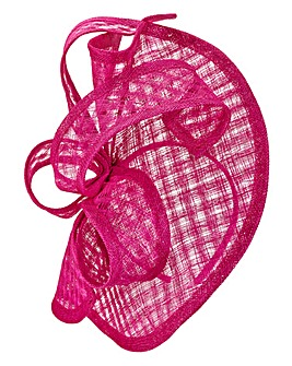 Headband Fascinator Windowpane