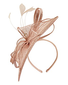 Headband Fascinator With Diamante