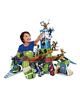 Turtles Mutations Giant Leonardo Playset