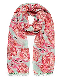 Joe Browns Flamingo Scarf