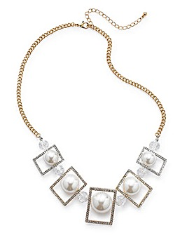 Cube Statement Necklace