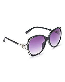 Lipsy Diamante Glam Sunglasses