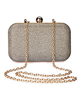 Alice Metallic Clutch Bag