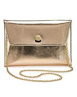 Maddie Rose Gold Clutch Bag