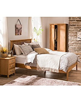 Harrogate DBL Bed with Memory Mattress