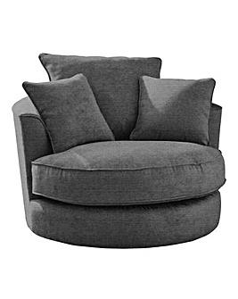 Country Collection Ripon Swivel Chair