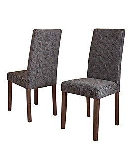 Portland Pair of Fabric Chairs