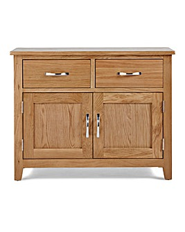 Harrogate Oak Veneer Small Sideboard