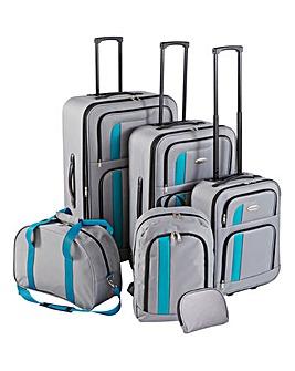 6 Piece Family Luggage Set
