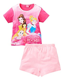 Disney Princess Girls Short Pyjamas