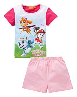Paw Patrol Short Pyjamas